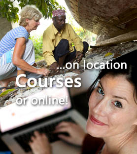 Courses on location or online