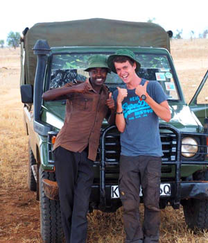 Volunteering with wildlife rangers at Luma Sanctuary in Kenya